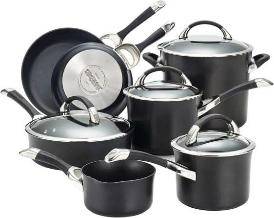 Best Non Stick Hard Anodized Cookware Set