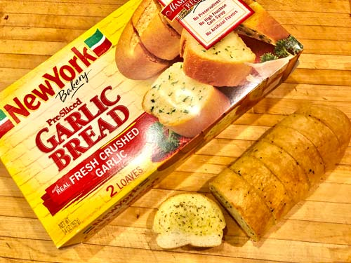 How To Cook Pre-Packaged Frozen Garlic Bread