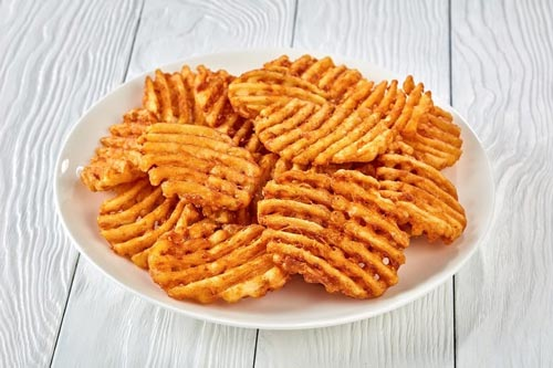 How To Cook Waffle Fries In An Air Fryer Basket